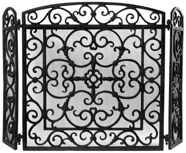Fireplace Screen (Black)