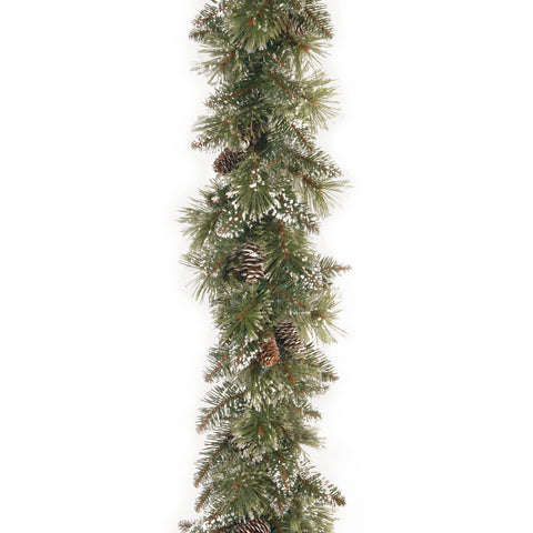 "Sparkling Pine 9ft x 10"" Artificial Garland"