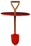 Red Spade Table