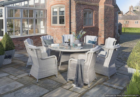 King Eight Seat Dining Set