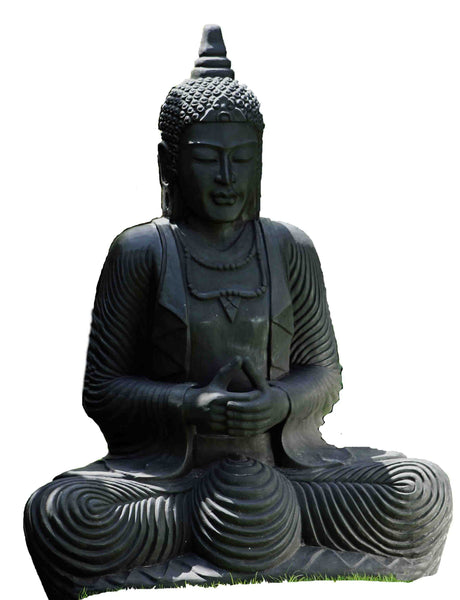 Giant Sitting Buddha Sculpture