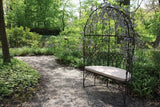 Old English Gazebo Bench