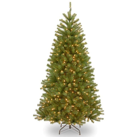 Elmore Spruce 6.5ft Artificial Christmas Tree with Lights