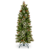 Woodbury Pine 5.5ft Artificial Christmas Tree Slim