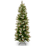 Woodbury Pine 6.5ft Artificial Slim Christmas Tree
