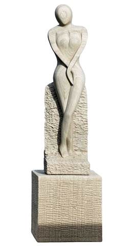 Serine Lady Sculpture
