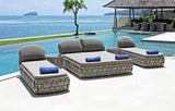 Strips Double Lounger