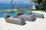 Strips Single Lounger