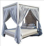 Strips Four Poster Bed