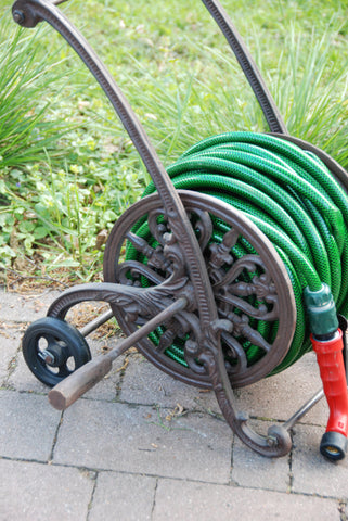 Cast Iron Hose Trolley