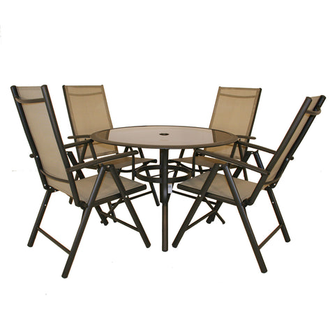 5 Piece Garden Dining Set