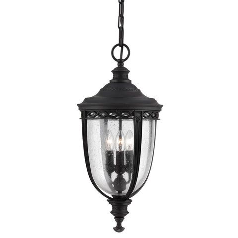 English Bridle 3 Light Chain Lantern