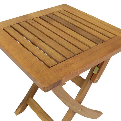 Small Square Foldable Side Table