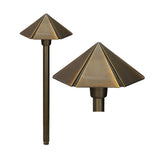 Bronze 12v Hex Pagoda Light - Aged Bronze