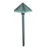 Bronze 12v Hex Pagoda Light - Verdigris