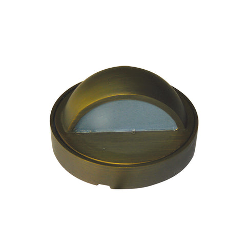 Bronze 12v Round Mini Eyelid Wall Light - Aged Bronze