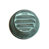 Bronze 12v Round Mini Eyelid Wall Light - Verdigris