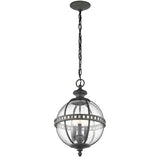 Halleron 3 Light Outdoor Chain Lantern