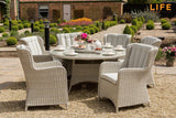 King Six Seat Dining Set