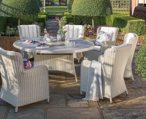 Queen Six Seat Dining Set