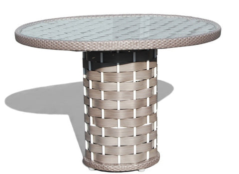 Strips Round Dining Table