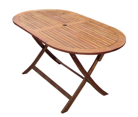Wooden Furniture Oval Table