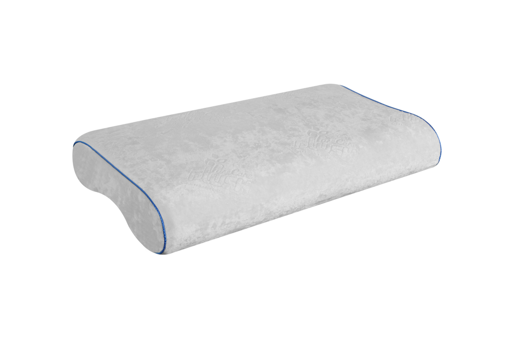 PureCare Almohada Ergonamica Gel y Memoria Foam Media Queen
