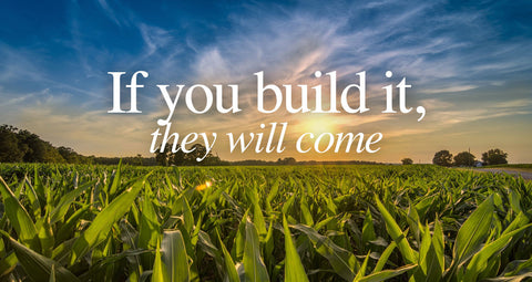If you build it they will come