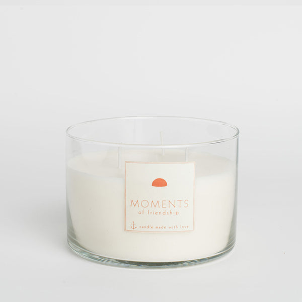 Moments of friendship scented candle
