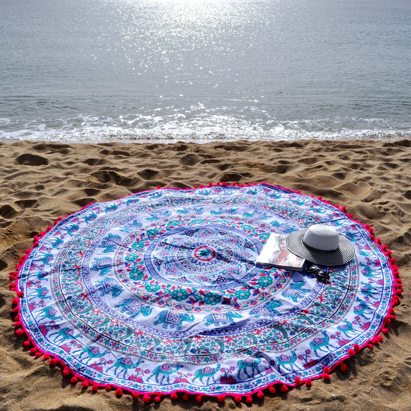 Fantasia multicolour Beach Roundie