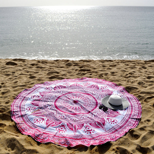 Rosé Summer beach Roundie