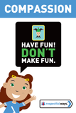Have Fun! Don't Make Fun -  Let's Chat Conversation Card