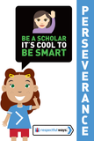 Be A Scholar – It's Cool To Be Smart! -  Let's Chat Conversation Card
