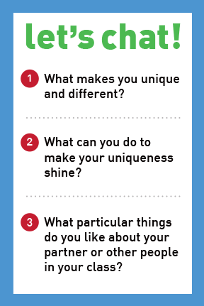 If You Don't Fit In, Make Your Own Category -  Let's Chat Conversation Card