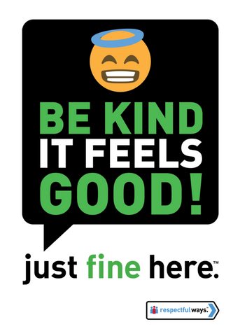 Be Kind – It Feels Good -  Removable Vinyl