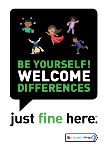 Be Yourself! Welcome Differences -  Guide