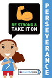 Be Strong And Take It On! -  Let's Chat Conversation Card