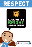 Look On The Bright Side -  Let's Chat Conversation Card