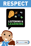 Listening And Learning -  Let's Chat Conversation Card