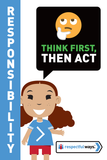 Think First, Then Act -  Let's Chat Conversation Card
