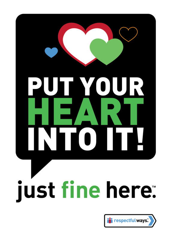 Put Your Heart Into It -  Removable Vinyl