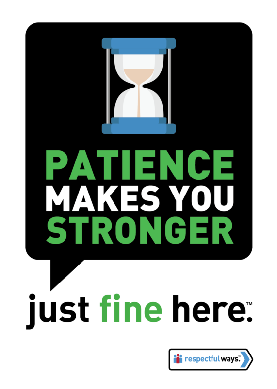 Patience Makes You Stronger -  Removable Vinyl
