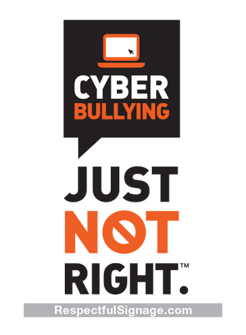 Cyber Bullying- Window Decal