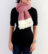 Hand Crocheted Pure Wool Unisex Scarf