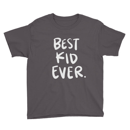 Boys' Best Kid Ever Tee (4 Colors Available)