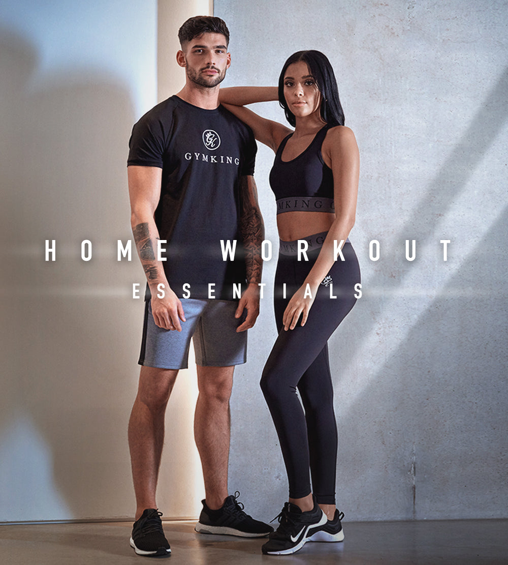 Mens and Womens SS20 Performance Home Work Out Collection