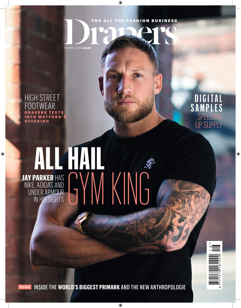 Draper Front Cover - Jay Parker, Gym King