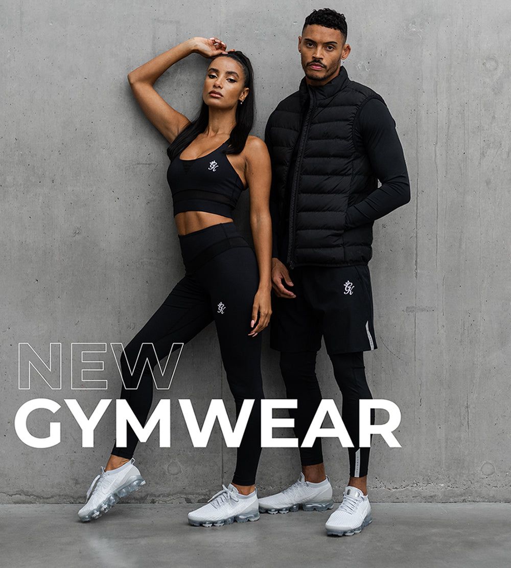 GYM KING PERFORMANCE COLLECTION FITNESS GYM WEAR MENS WOMENS