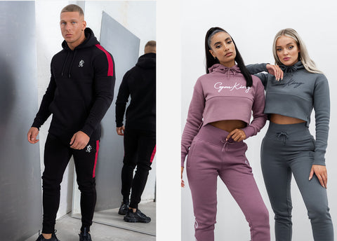 Volt and Sky Script Tracksuits