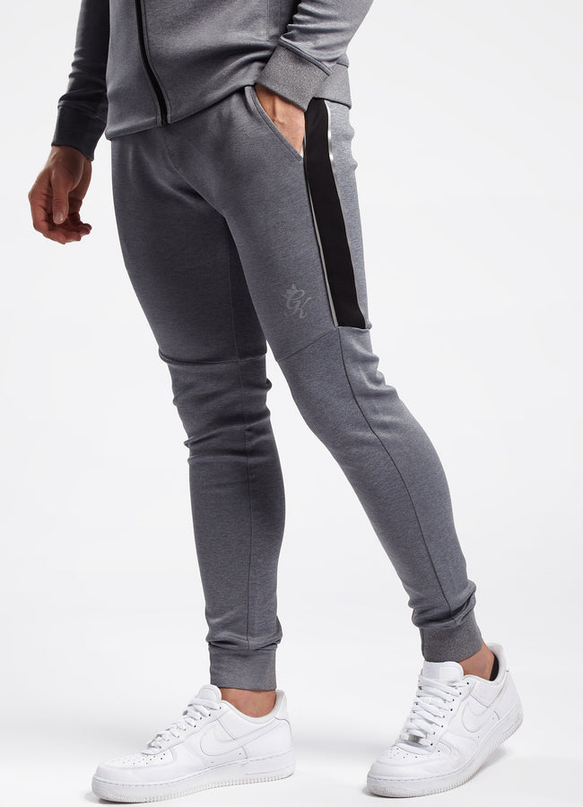 Gym King Adapt Reflective Jogger - Charcoal Marl/Black